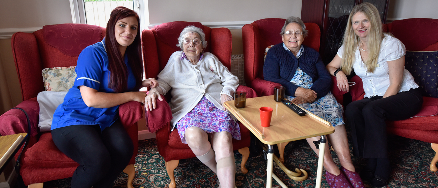 hythe care home resident