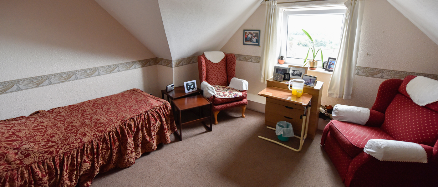 abbey lodge residential care home bedroom